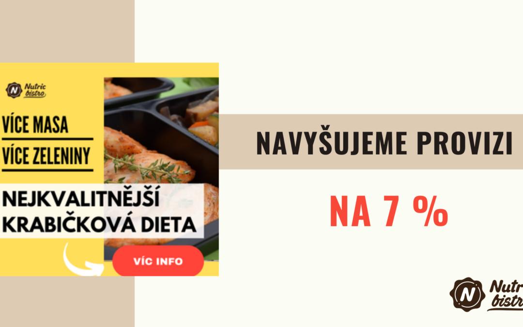 Nutricbistro.cz – affiliate program